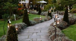 Poems in the Garden at the Royal Crescent Hotel and Spa